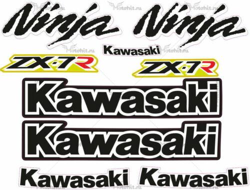 Комплект наклеек Kawasaki ZX-7 1997