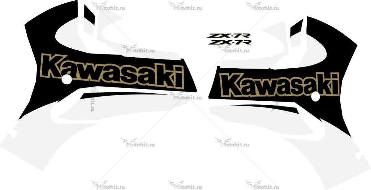 Комплект наклеек Kawasaki ZX-7R 2001