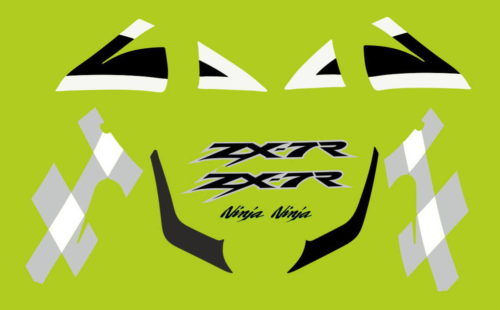 Комплект наклеек Kawasaki ZX-7R 2002
