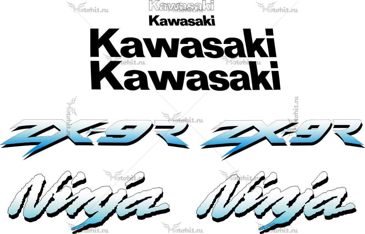 Комплект наклеек Kawasaki ZX-9R 1997