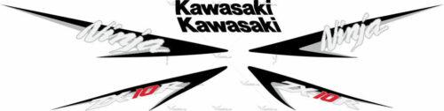 Комплект наклеек Kawasaki ZX-10-R 2007 SET
