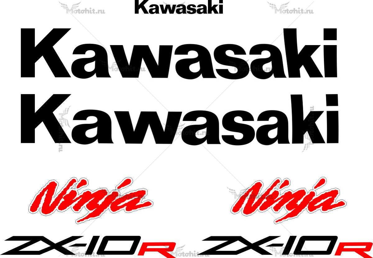 Комплект наклеек Kawasaki ZX-10-R 2011