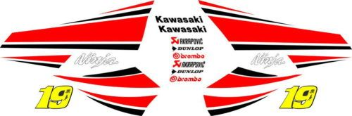 Комплект наклеек Kawasaki ZX-10-R CASADO