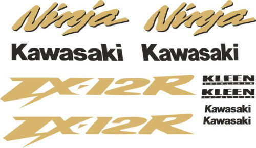 Комплект наклеек Kawasaki ZX-12-R 2002