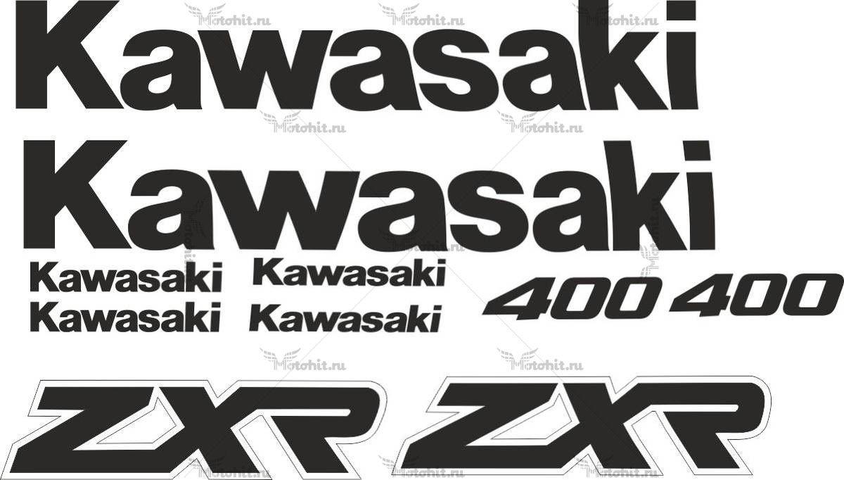 Комплект наклеек Kawasaki ZXR-400 1990