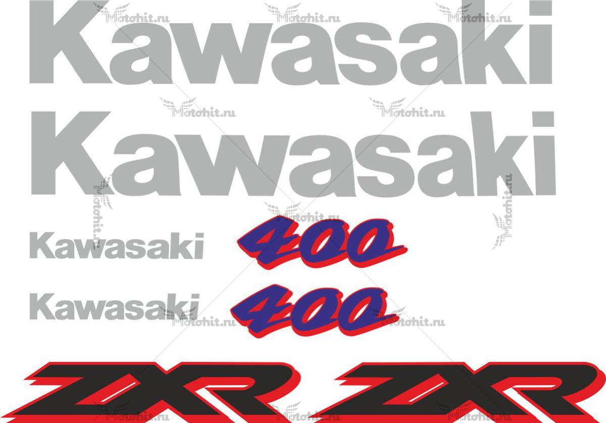 Комплект наклеек Kawasaki ZXR-400 1996