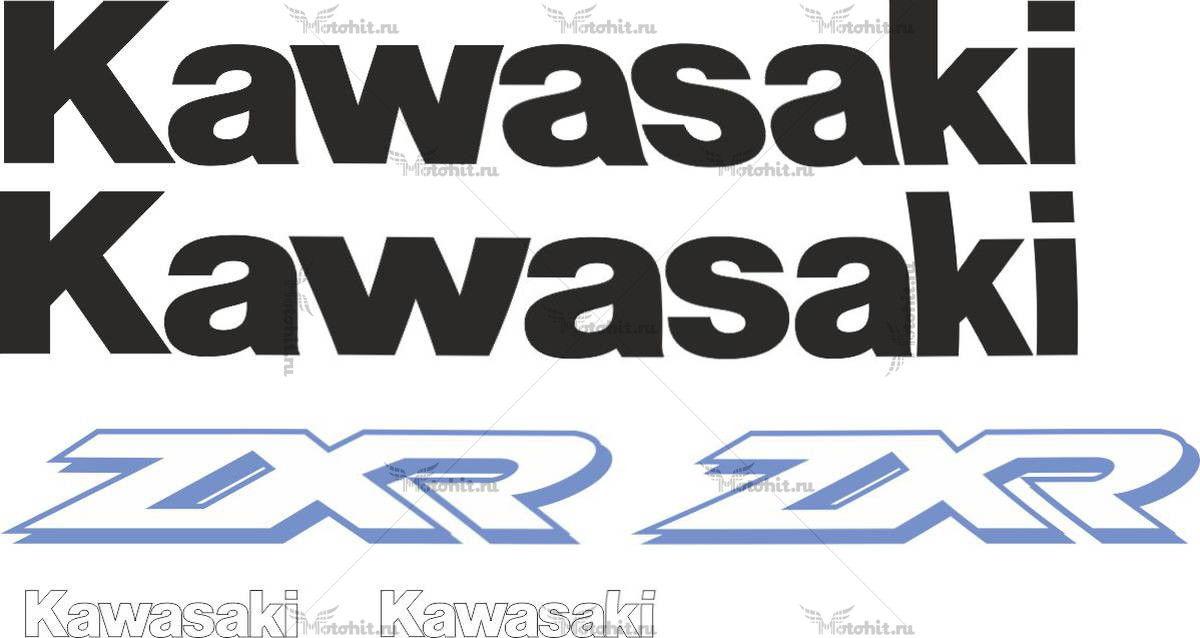 Комплект наклеек Kawasaki ZXR-400 2000