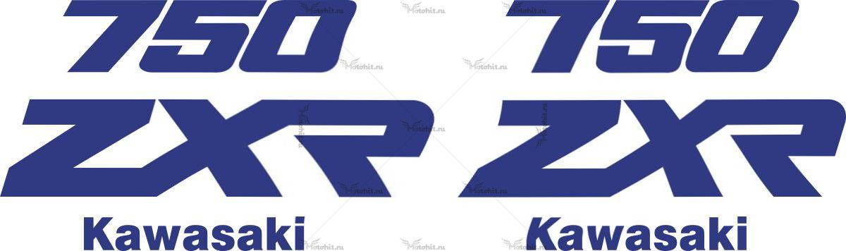 Комплект наклеек Kawasaki ZXR-750