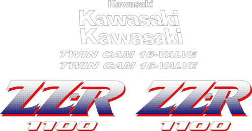 Комплект наклеек Kawasaki ZZR-1100 1990-1991