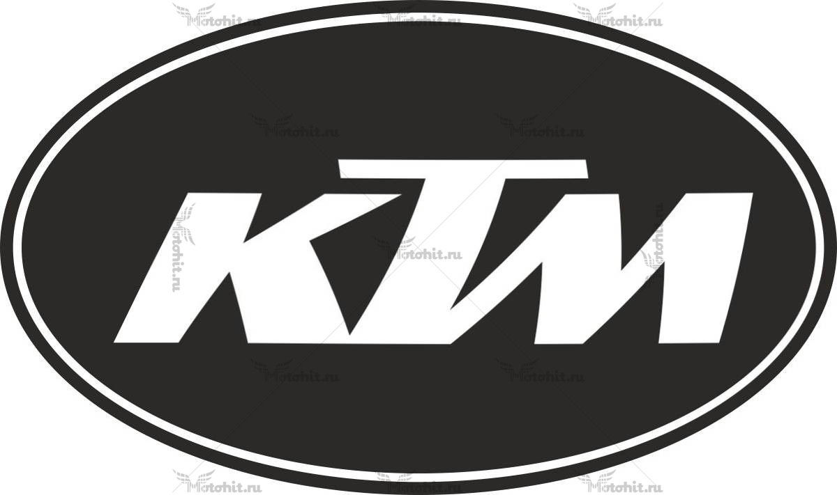 Наклейка KTM