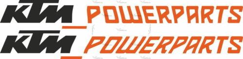 Наклейка KTM POWER-PARTS