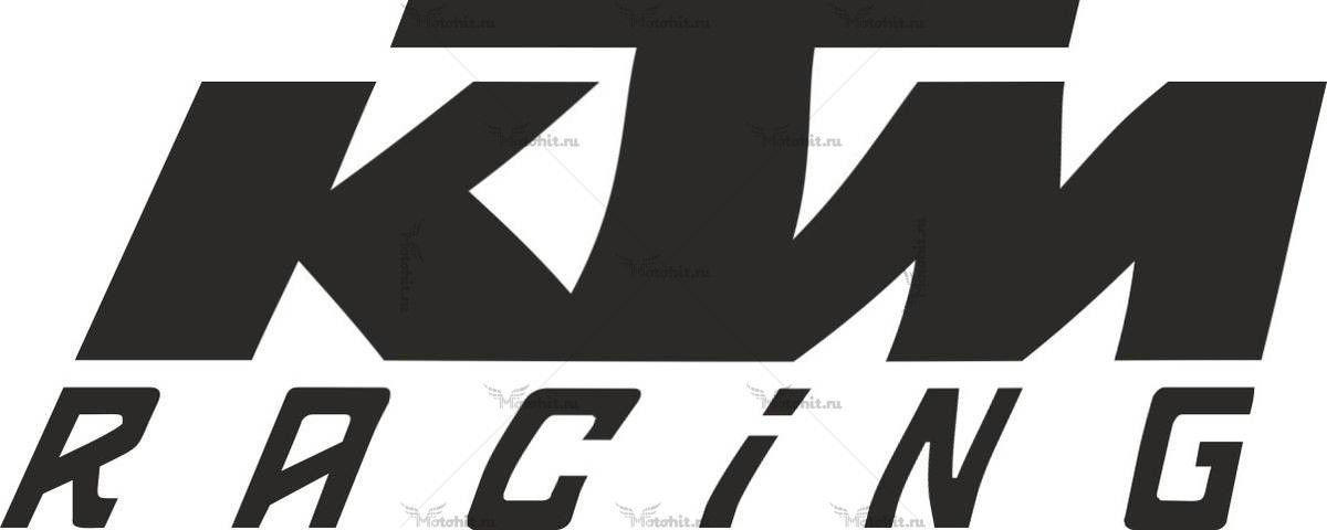 Наклейка KTM RACING