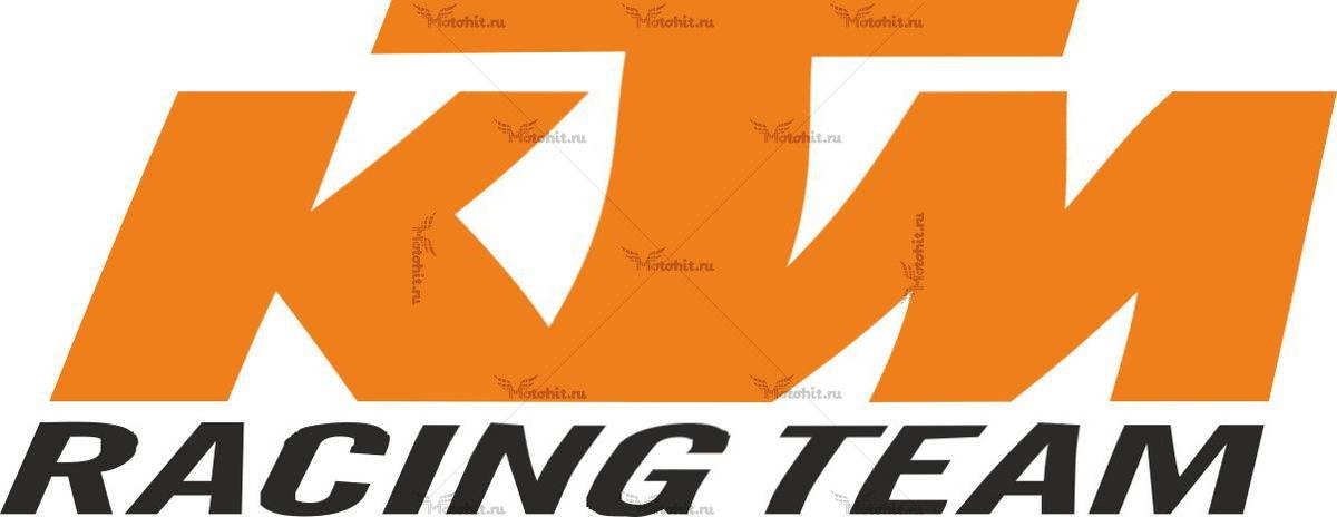 Наклейка KTM RACING-TEAM