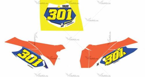 Комплект наклеек KTM EXC-300 2012