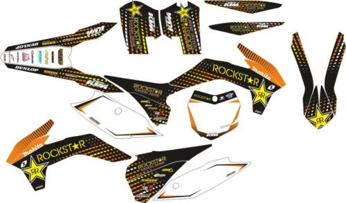 Комплект наклеек KTM SXF 2013-2014