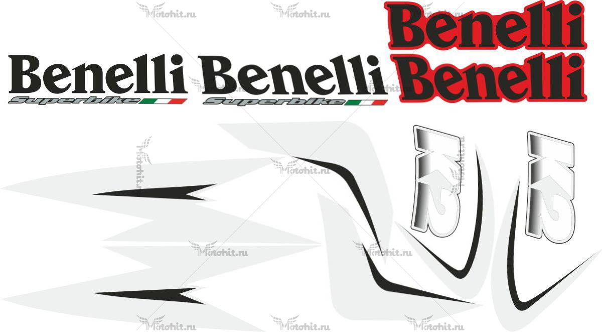 Комплект наклеек BENELLI-K2