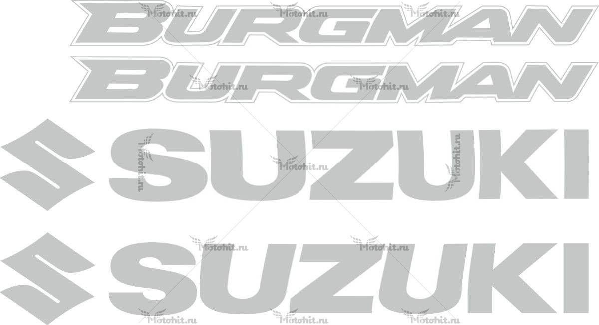 Комплект наклеек Suzuki BURGMAN-250