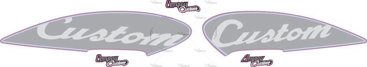 Комплект наклеек Aprilia CUSTOM 2013