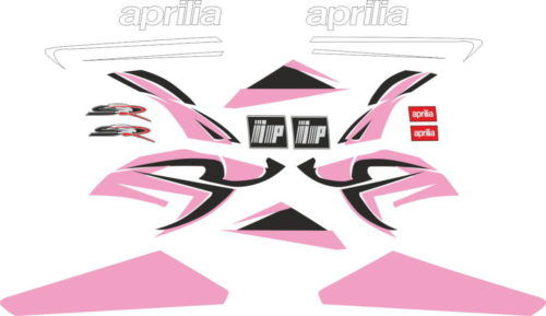 Комплект наклеек Aprilia SR-50 2008 PINK