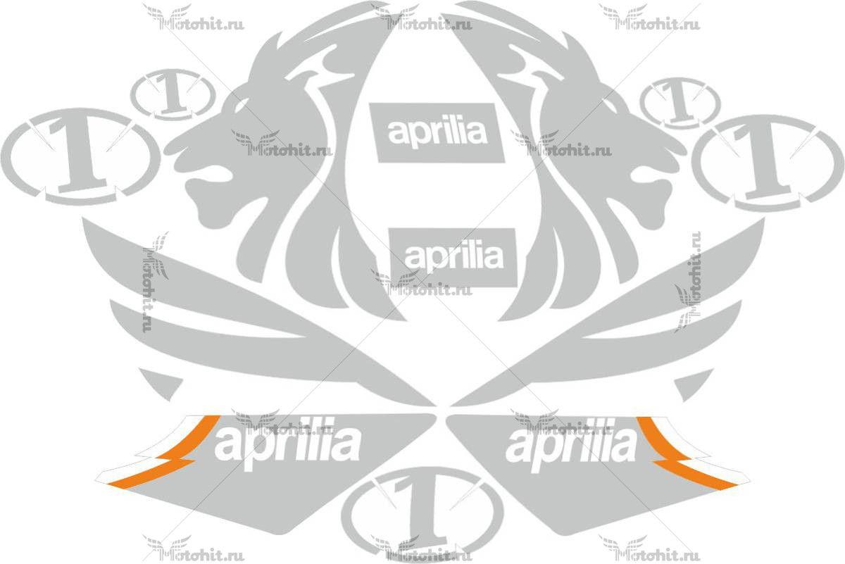 Комплект наклеек Aprilia TIGER-100%