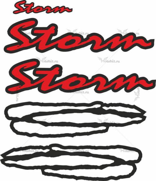 Комплект наклеек GILERA STORM