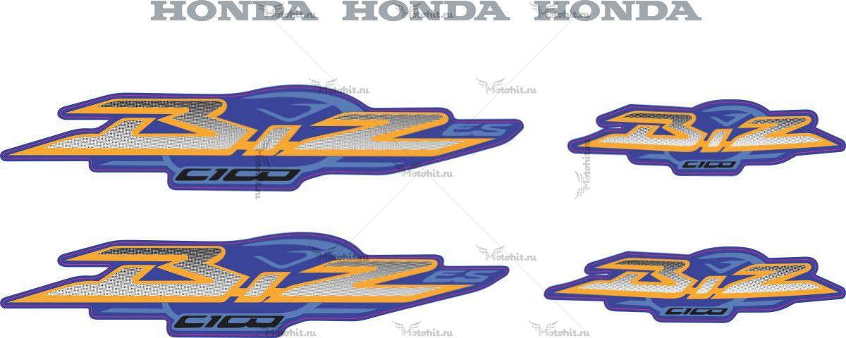 Комплект наклеек Honda C-100-BIZ 2003