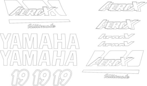 Комплект наклеек Yamaha AEROX