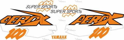 Комплект наклеек Yamaha AEROX-100