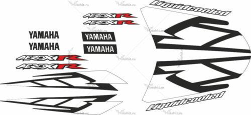Комплект наклеек Yamaha AEROX-R-LIQUID-COOLED