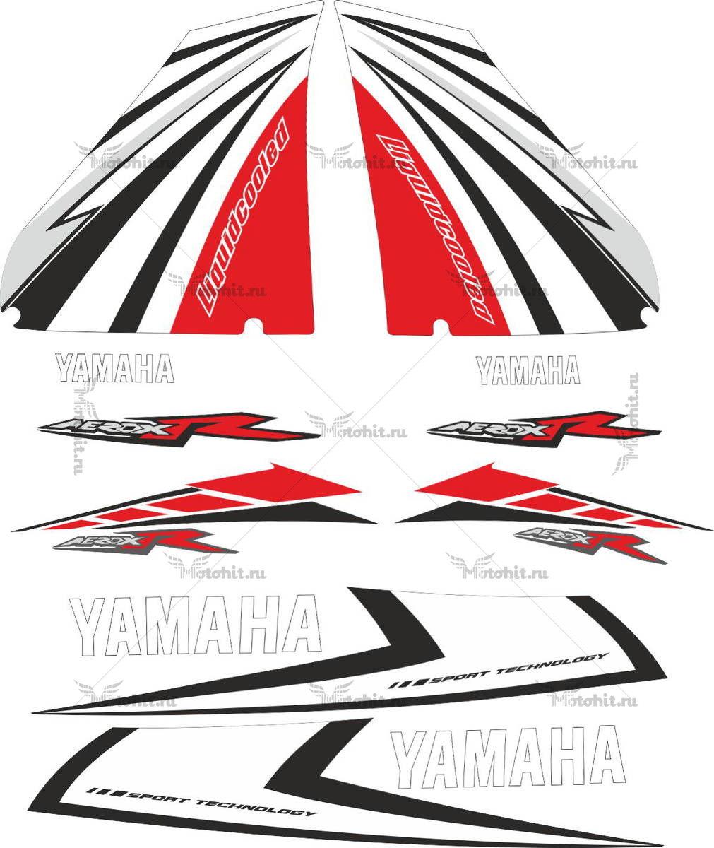 Комплект наклеек Yamaha AEROX-R-SPORT