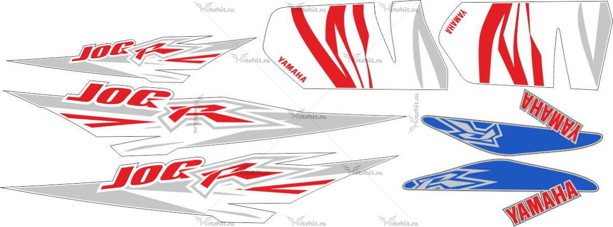 Комплект наклеек Yamaha JOG-R 2006