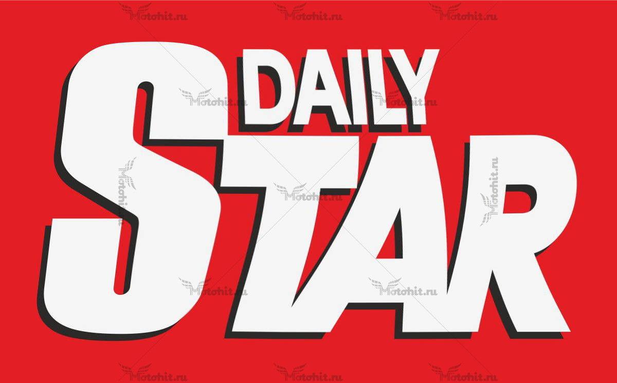 Наклейка DAILY STAR