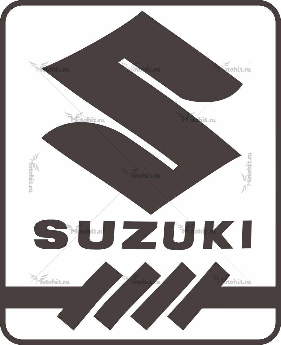 Наклейка SUZUKI BADGE