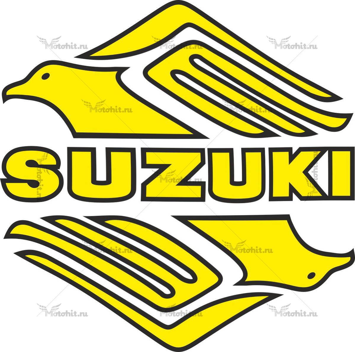 Наклейка SUZUKI BIRD