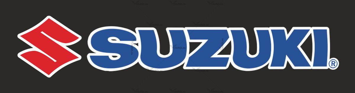 Наклейка SUZUKI BLUE