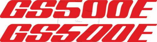 Наклейка SUZUKI GS-500-E