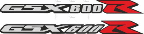 Наклейка SUZUKI GSX-600-R