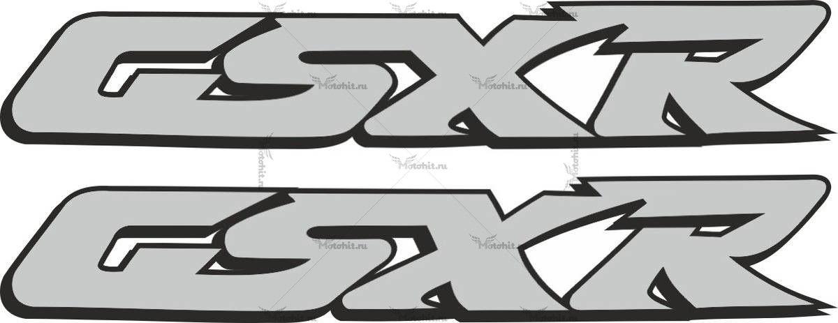 Наклейка SUZUKI GSX-R-3