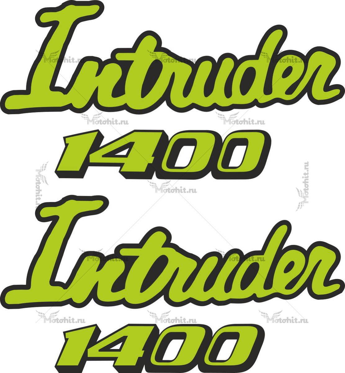 Наклейка SUZUKI INTRUDER-400