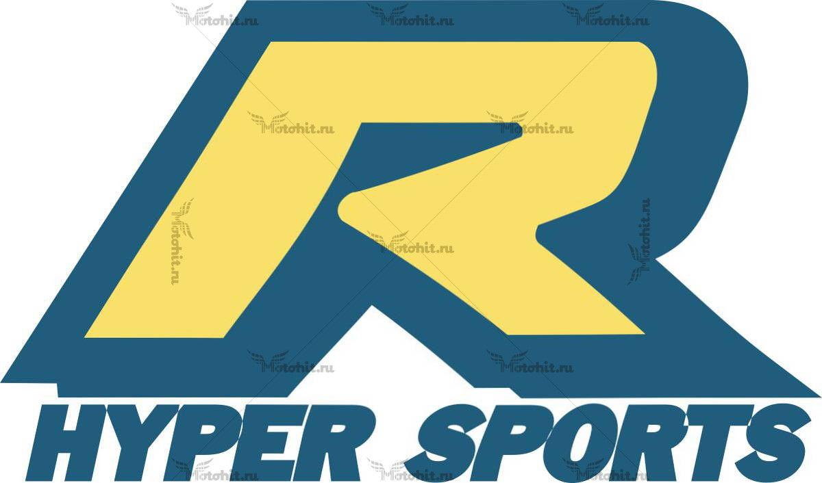 Наклейка SUZUKI R-HYPERSPORTS