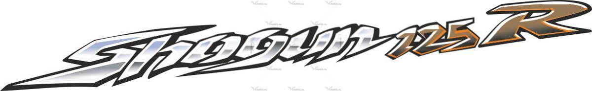 Наклейка SUZUKI SHOGUN-125-R
