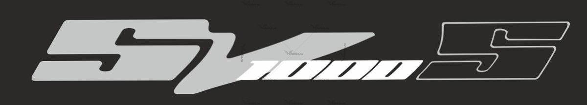 Наклейка SUZUKI SV-1000-S-2