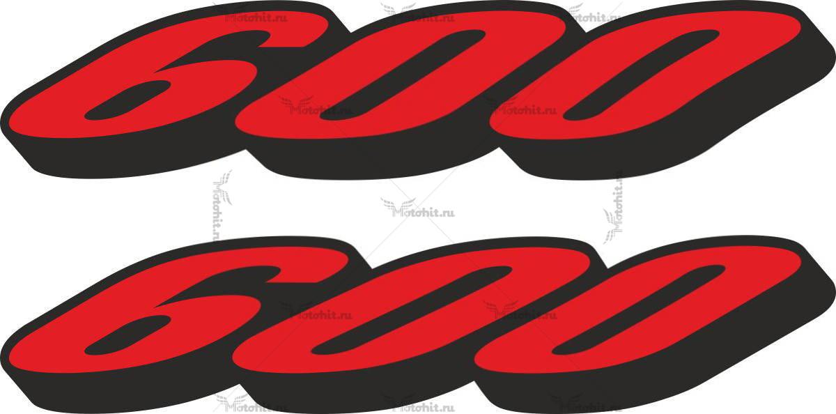 Наклейка SUZUKI 600