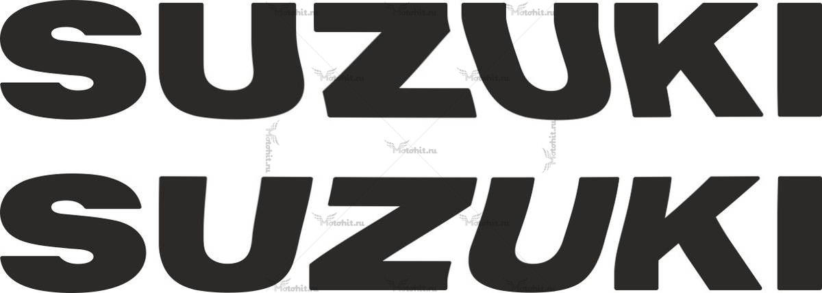 Наклейка SUZUKI TXT