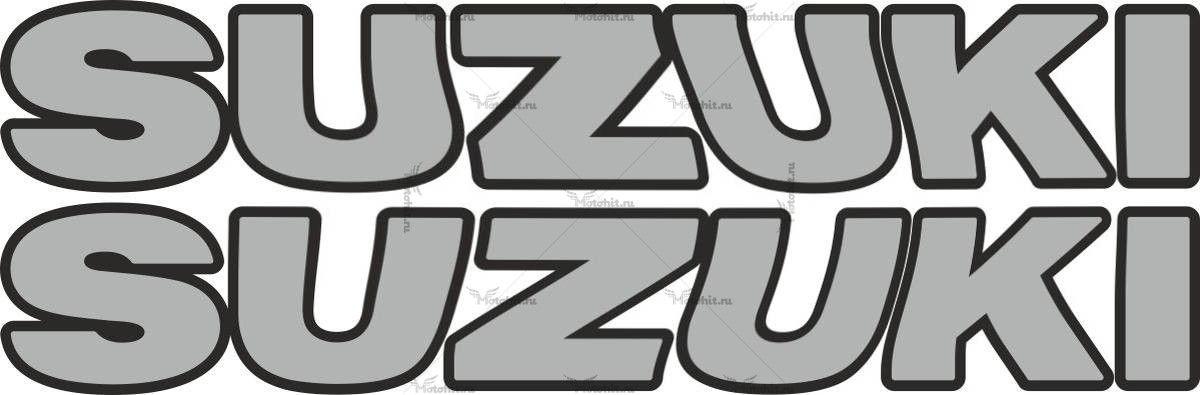 Наклейка SUZUKI TXT 2COLOR