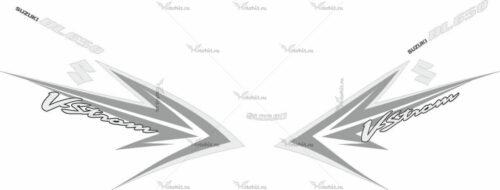 Комплект наклеек SUZUKI DL-650 2009 VSTROM