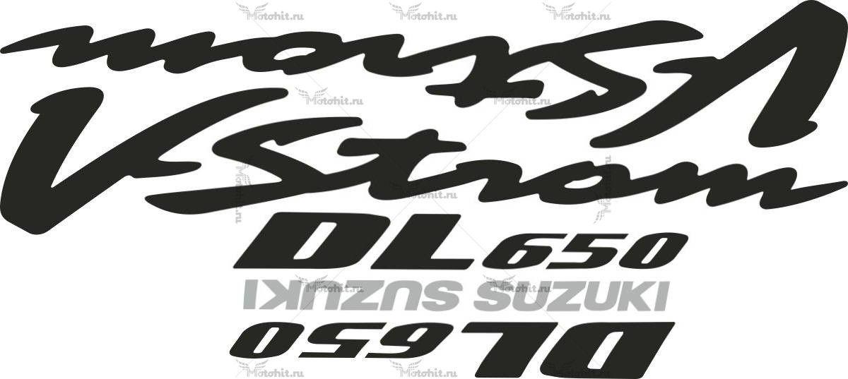 Комплект наклеек SUZUKI DL-650-V 2004 STROM