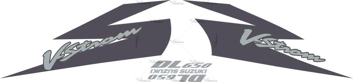 Комплект наклеек SUZUKI DL-650-V 2005 STROM