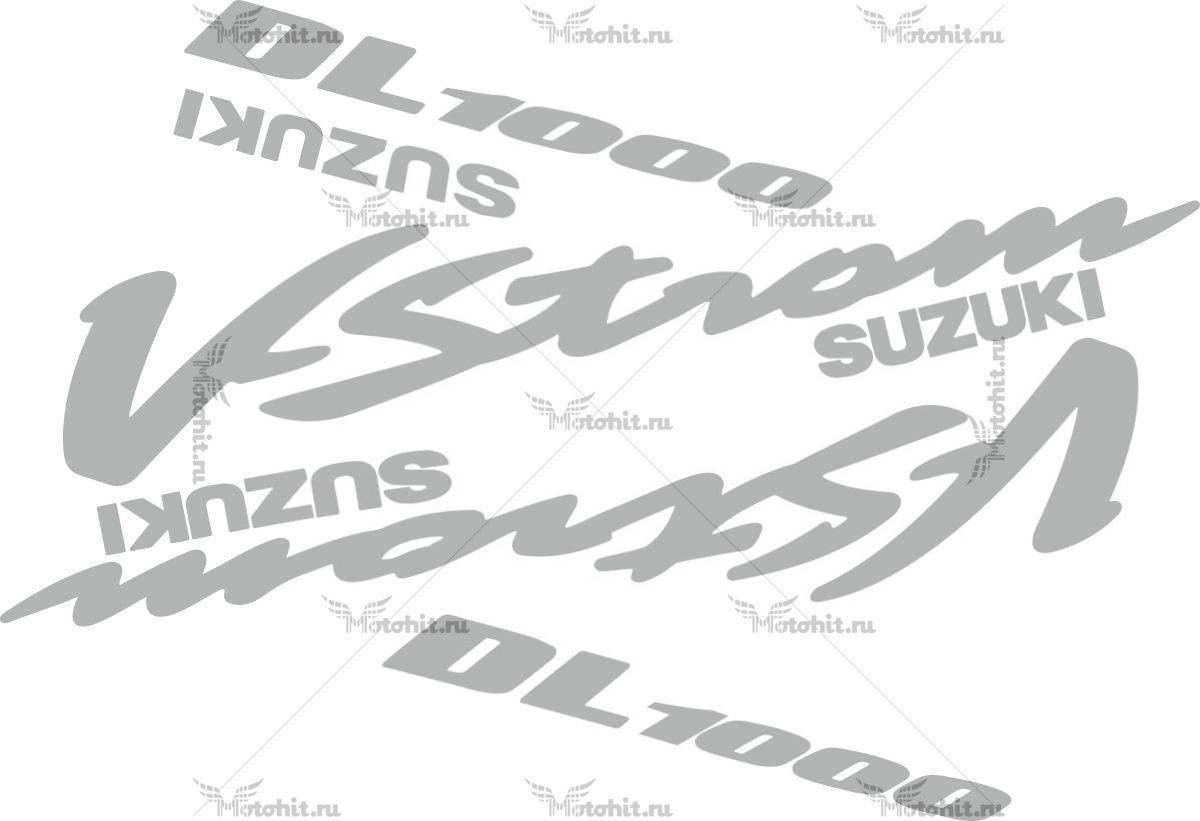 Комплект наклеек SUZUKI DL-1000 2002