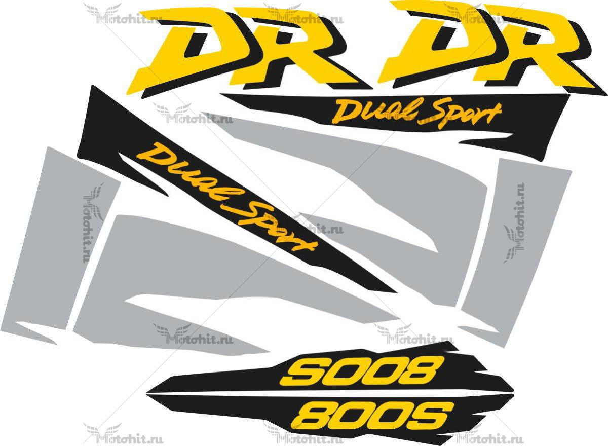 Комплект наклеек SUZUKI DR-800-S 1998-1999